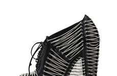 Iris van Herpen's Crystallization Collection is Rockstar Footwear
