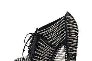 Iris van Herpen's Crystallization Collection is Rockstar Footwear