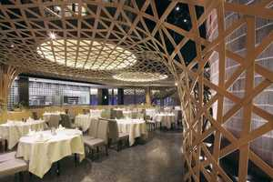 Atelier FCJZ Designs the Tang Palace Restaurant in Hangzhou China