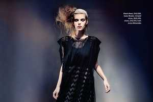 The M Magazine Spread Features Shapeless Dark Silhouettes