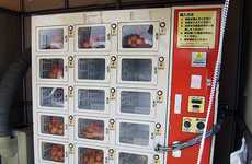 Eggcellent Food Dispensers - The Egg Vending Machine Provides Fresh Eggs on a Daily Basis