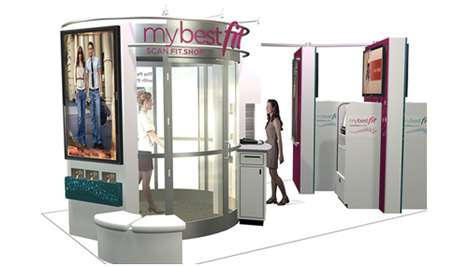 Body-Scanning Size Detectors - The 'My Best Fit' Helps Shoppers Figure Out Their True Sizes