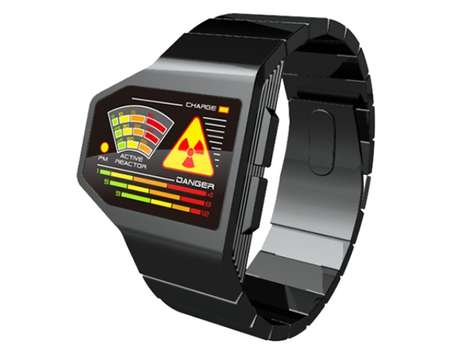 Radiation Level watch