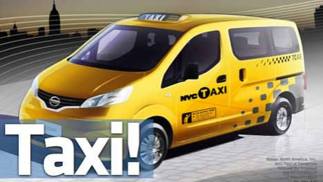 Taxicab Makeovers - Nissan to Become the New Supplier for New York City Cabs
