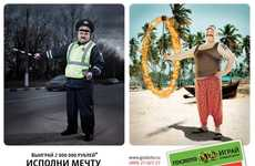 Fulfilled Fantasy Campaigns - These Gosloto Russian Lottery Ads Realize Humble Dreams