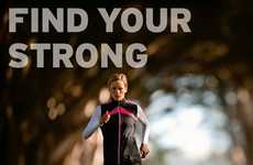Motivating Interactive Campaigns  - Saucony's Athletic Ad Campaign Asks Users to Find Their Strength