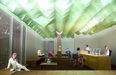 Pyramidal Paper Ceilings