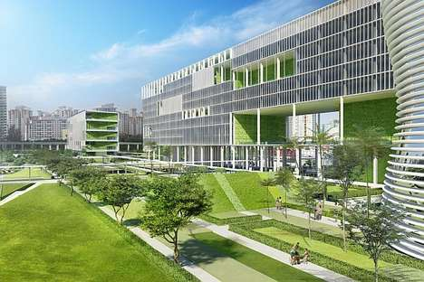 Natural Healing Havens - The Jurong General Hospital Prescribes Fesh Air and Greenery for the Sick
