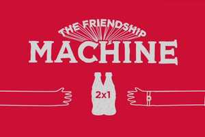 The Coca-Cola Friendship Machine Rewards Amiability With Double the Pop