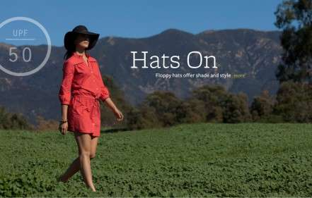 Cancer-Preventing Fashion - Mott 50's Clothing Offers Sun Protection and Style