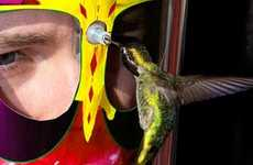 The Eye 2 Eye Mask Lets Users Get Up Close and Personal With Hummingbirds