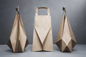 Ilvy Jacobs Redesigns the Ordinary Paper Bag into Modern Art
