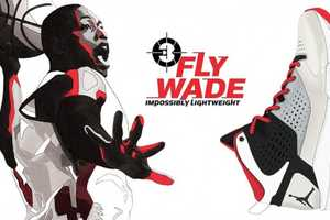 These Jordan Fly Wade Shoes are Perfect for Fans of the Miami Heat Team