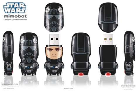 Star Wars flash drive ad
