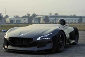 The Peugeot Ex1 Electric Concept Dominates the Nurburgring Nordschleife