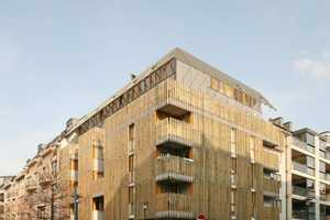 Social Housing in Brussels is Cleverly Compact and Aesthetically Clean