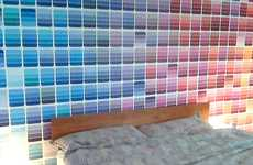 Paint Swatch Wall Art - DIYers Take Swatching to the Next Level