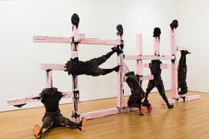 Folkert de Jong Sculpts Dark Disfigurations at the James Cohan Gallery