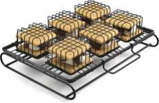 Caged Campfire Cookers - The 'S'More to Love' Roasts Your Marshmallow Sandwich Struggle-Free