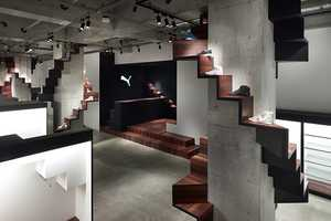 The Nendo Puma House Tokyo is an Exsquisitely Original Event Space