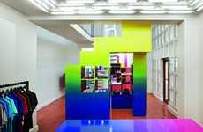 Multicolored Menswear Boutiques