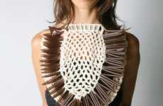 Michelle Lowe-Holder Spring/Summer 2011 Jewelry is Lovely & Leather