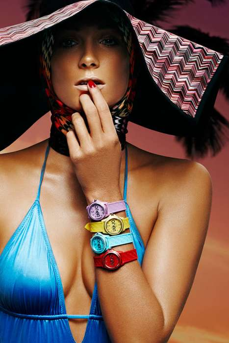 Brilliantly Bright Baubles - Ilona Swagemakers Vogue Italy Swim Shoot is Captivating