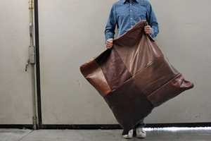 Patch from Heyteam is Made from Upcycled Leather Scraps