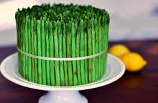The Asparagus Cake is Perfect for Springtime