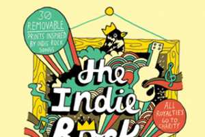 The Indie Rock Poster Book Features Rock Song-Inspired Posters