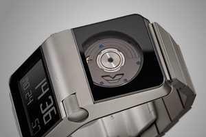 Studio Hannes Wettstein Watches are Powered by Wrist Movement