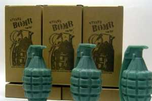 Grenade Soap From Stinkybomb is Dynamite