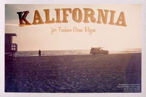 Polaroid Fashion Photography - Graham Dunn Shoots Kelley Ash for Fashion Gone Rogue