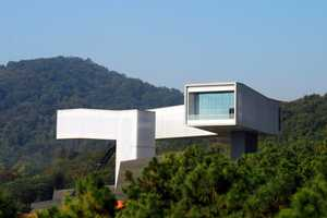 The Nanjing Sifang Art Museum by Steven Holl Architects is Eye-Catching