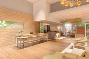 """Holiday Inn Becomes an """"hautel"""" With New Futuristic Foyers"""