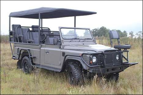 electric Land Rover Defender