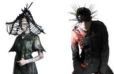 Spiky Headpiece Spreads