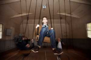 The Paolo Salvagione Competitive Swinging Installation is Swingin'