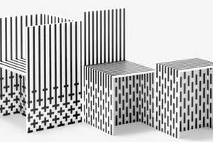 Visible Structures by Nendo Look and Feel Falsely Insubstantial