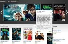 Social Media Movie Rentals