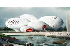11 Marvelous Museum Concepts - From Panoramic Rainbow Rooftops to Cliffside Museums