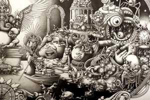 The Joe Fenton 'Solitude' Series Combines Comical Monsters & Suberb Design