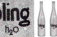 Crystal-Studded Water Bottles - Bling H2O Gets Some Extra Class With the Help of Swarovski