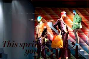 The ROLLOUT Holt Renfrew Walls are Youthful & Energetic