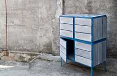Newspaper Designer Furniture - Mieke Dingen Creates a Wood-Like Material Out of Old Newspaper