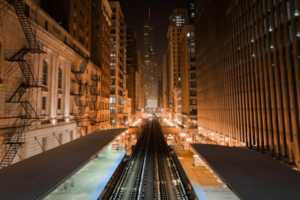 Dominic Boudreault Shoots Huge Urban Environments at Night