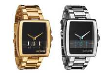Time-Less Timekeepers - The Nixon Axis Summer Watch for Men is Skeek & Sophisticated