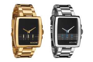 The Nixon Axis Summer 2011 Watch for Men is Skeek & Sophisticated