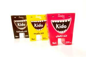 Kido Milk Packaging Smiles About Calcium for Your Pearly Whites