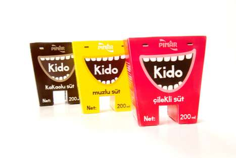 Kido Milk Packaging